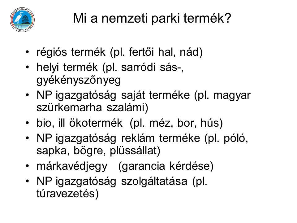 Mi a nemzeti parki termék
