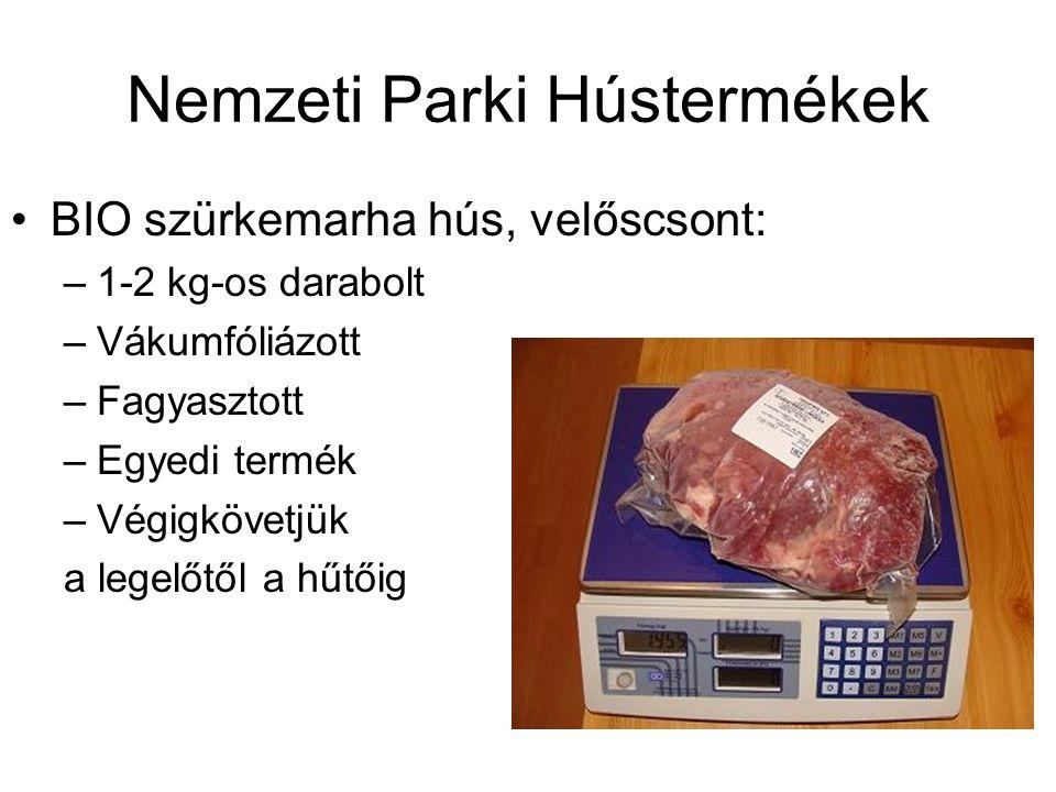 Nemzeti Parki Hústermékek