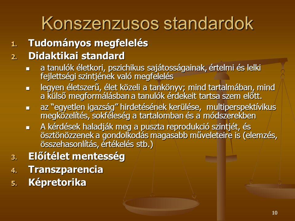 Konszenzusos standardok