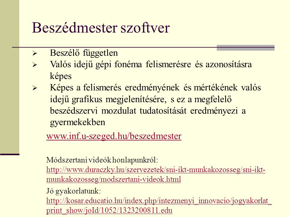Beszédmester szoftver