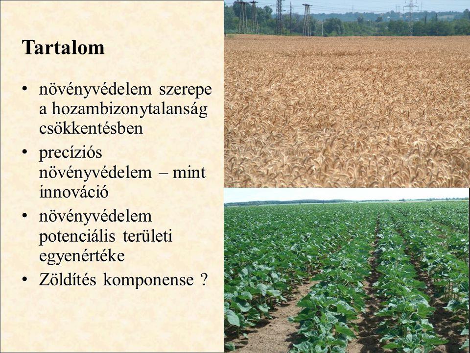 Tartalom növényvédelem szerepe a hozambizonytalanság csökkentésben