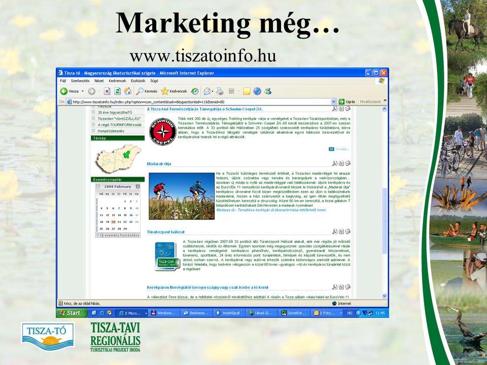 Marketing még… www.tiszatoinfo.hu