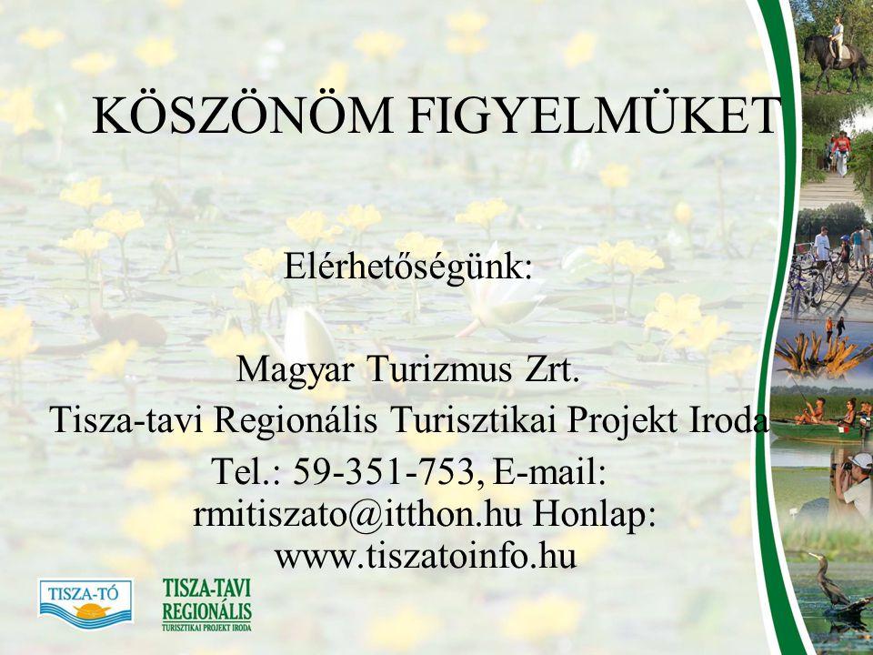 Tisza-tavi Regionális Turisztikai Projekt Iroda