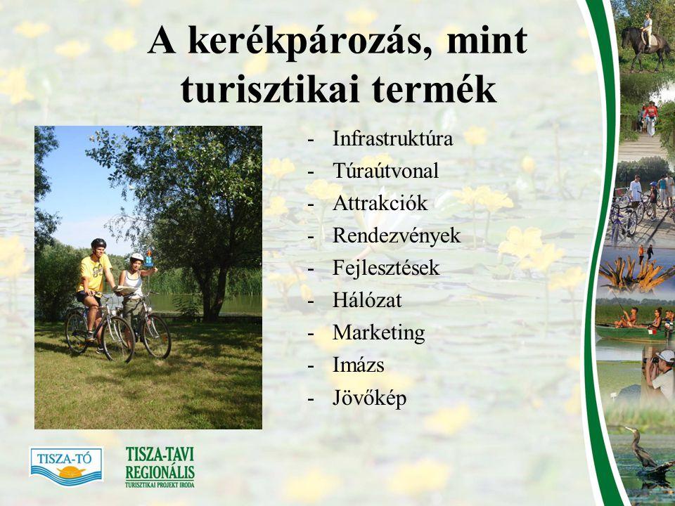A kerékpározás, mint turisztikai termék