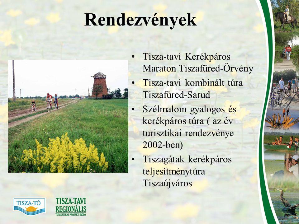 Rendezvények Tisza-tavi Kerékpáros Maraton Tiszafüred-Örvény