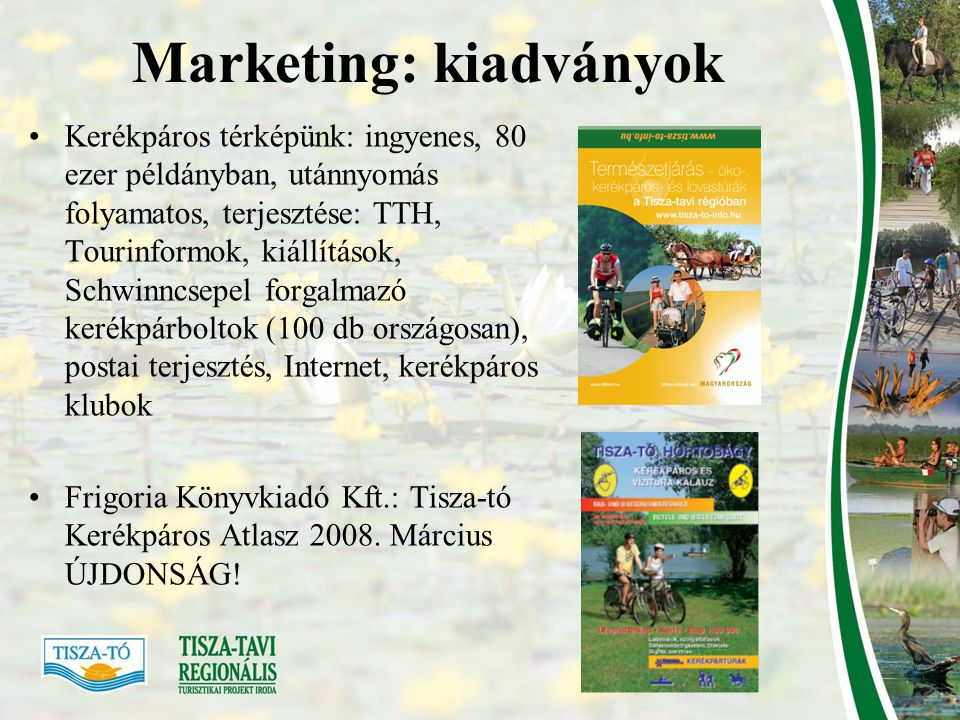 Marketing: kiadványok