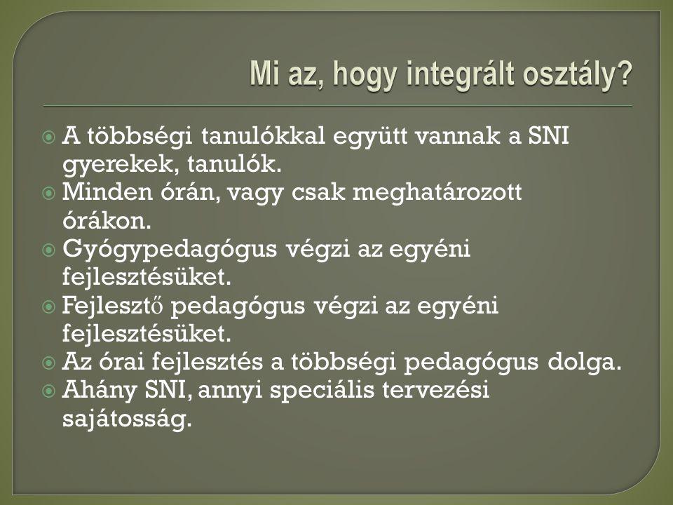 Mi az, hogy integrált osztály
