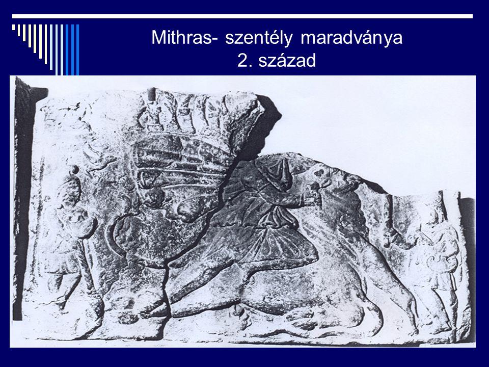 Mithras- szentély maradványa 2. század