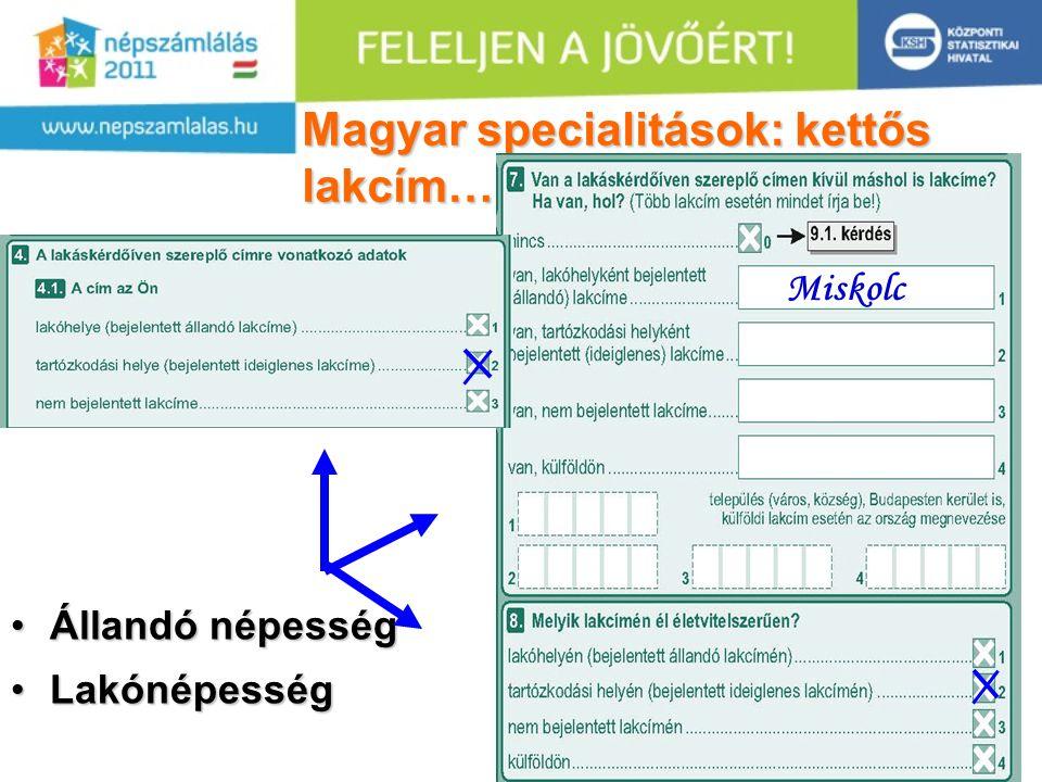 Magyar specialitások: kettős lakcím…..