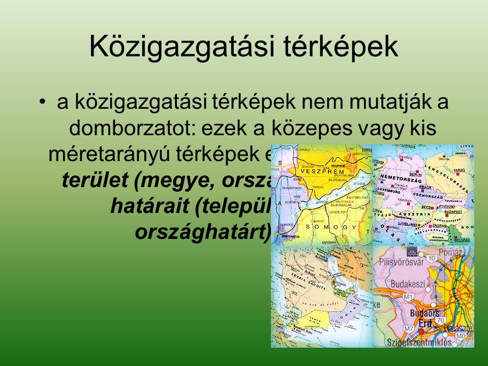 Közigazgatási térképek