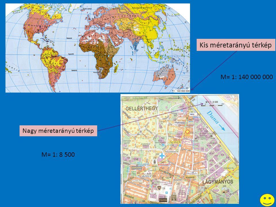 Kis méretarányú térkép