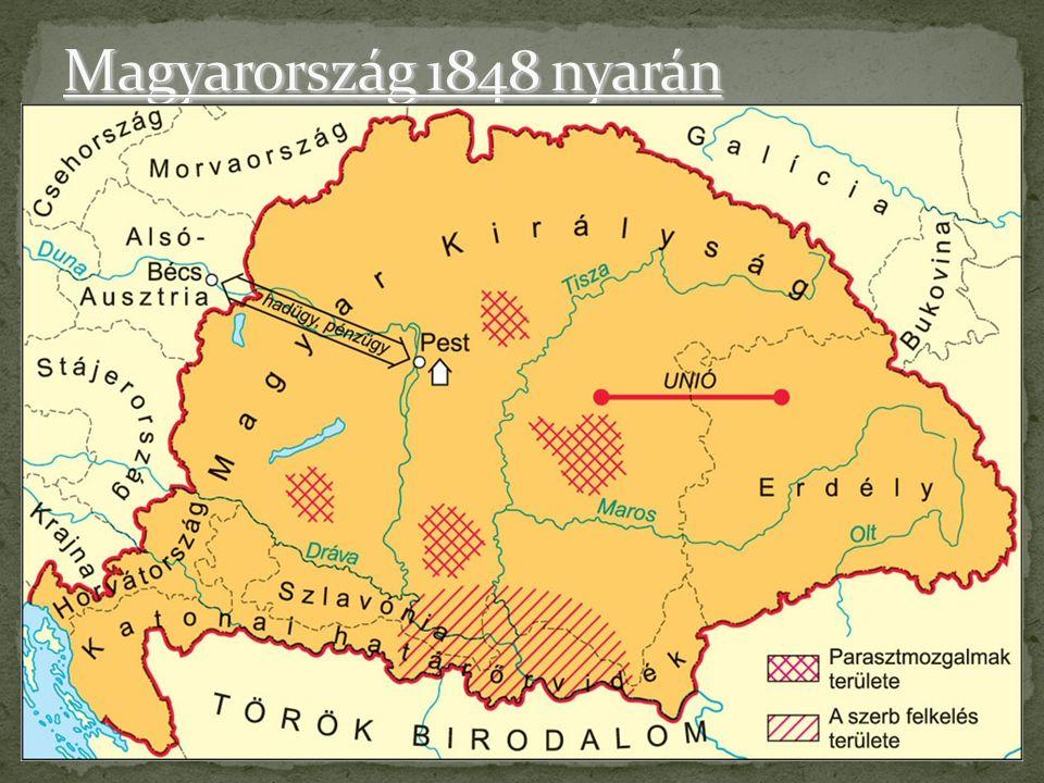 Magyarország 1848 nyarán