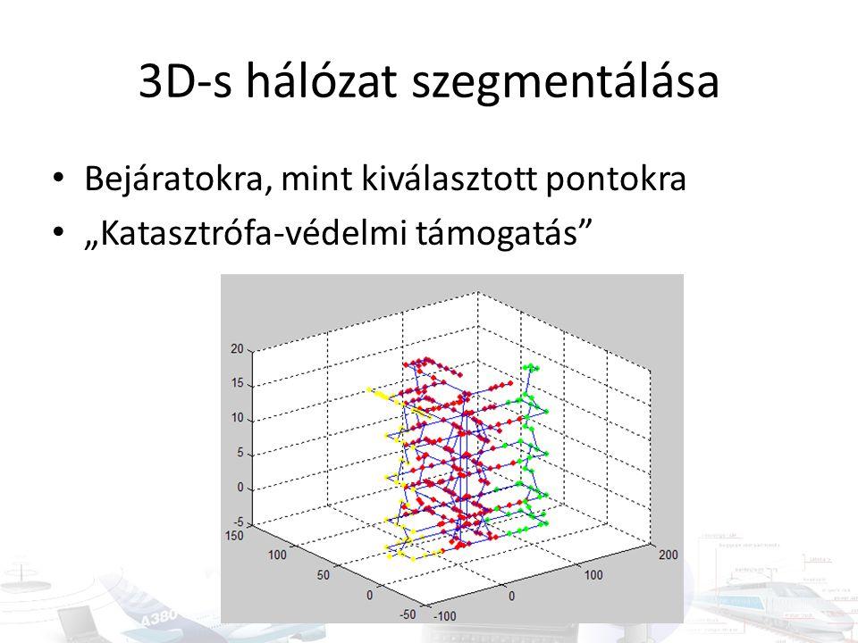 3D-s hálózat szegmentálása