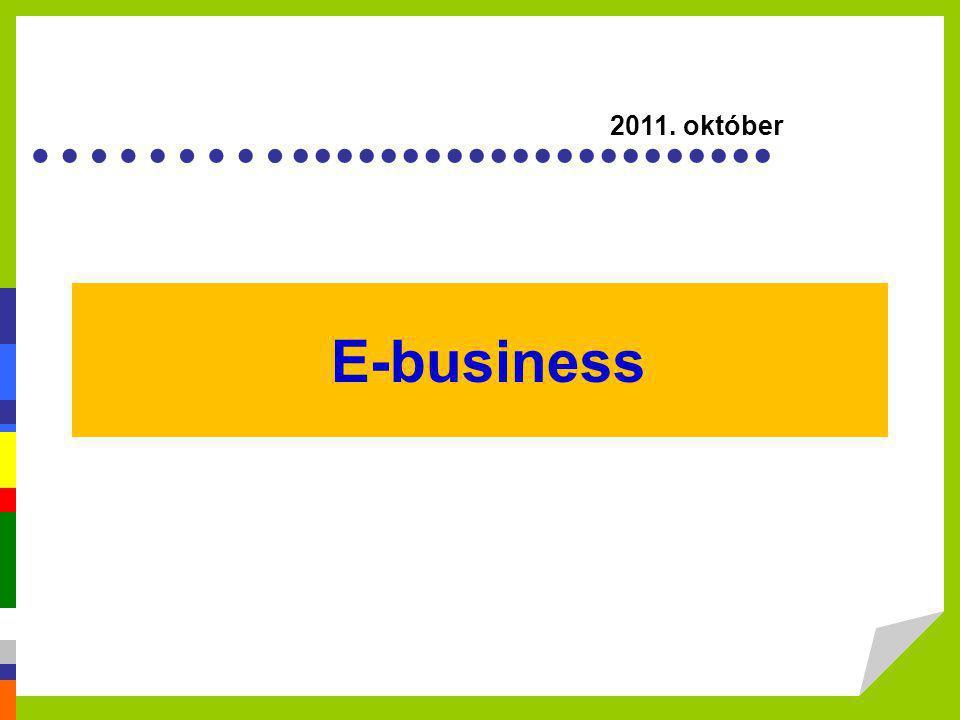 2011. október E-business.