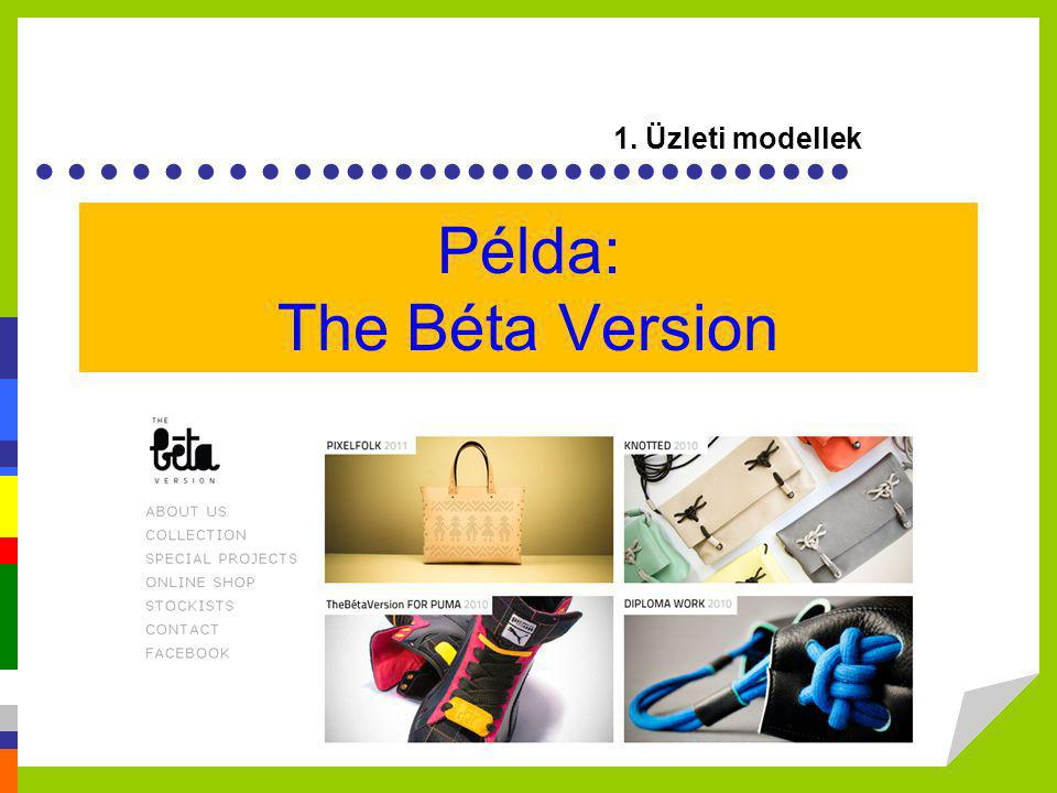 Példa: The Béta Version