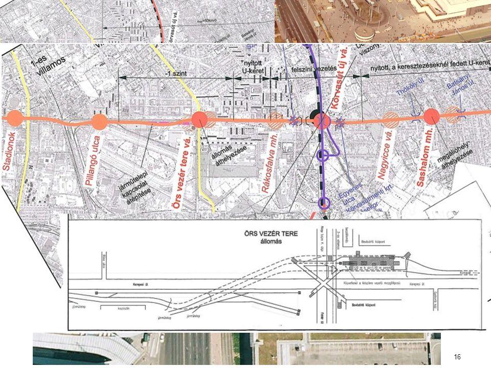 H8-as hév és M2 metró összekötése