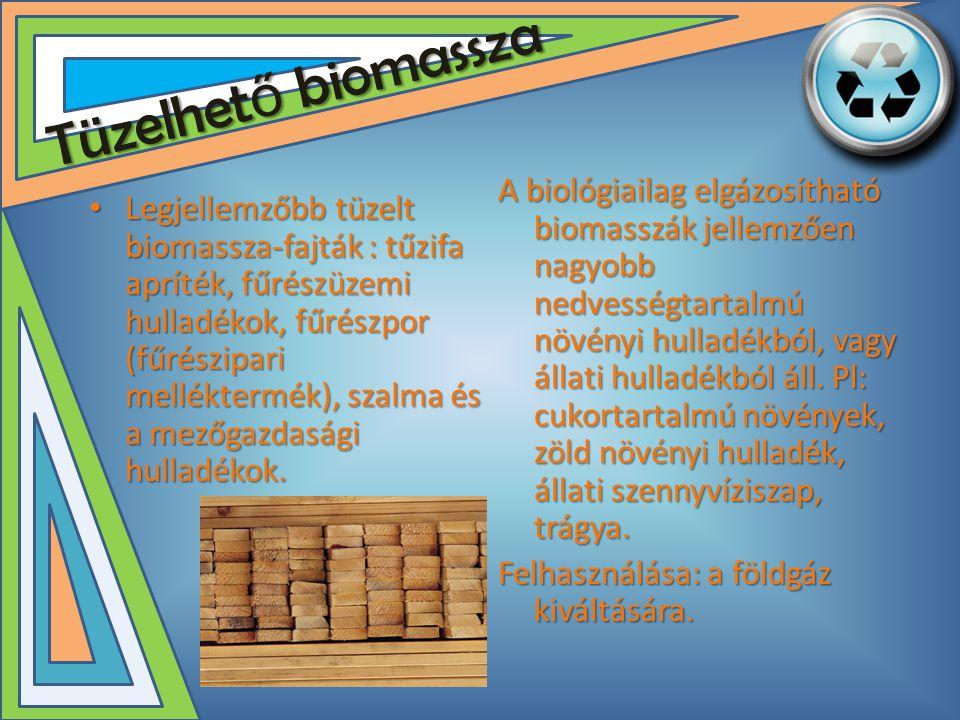 Tüzelhető biomassza
