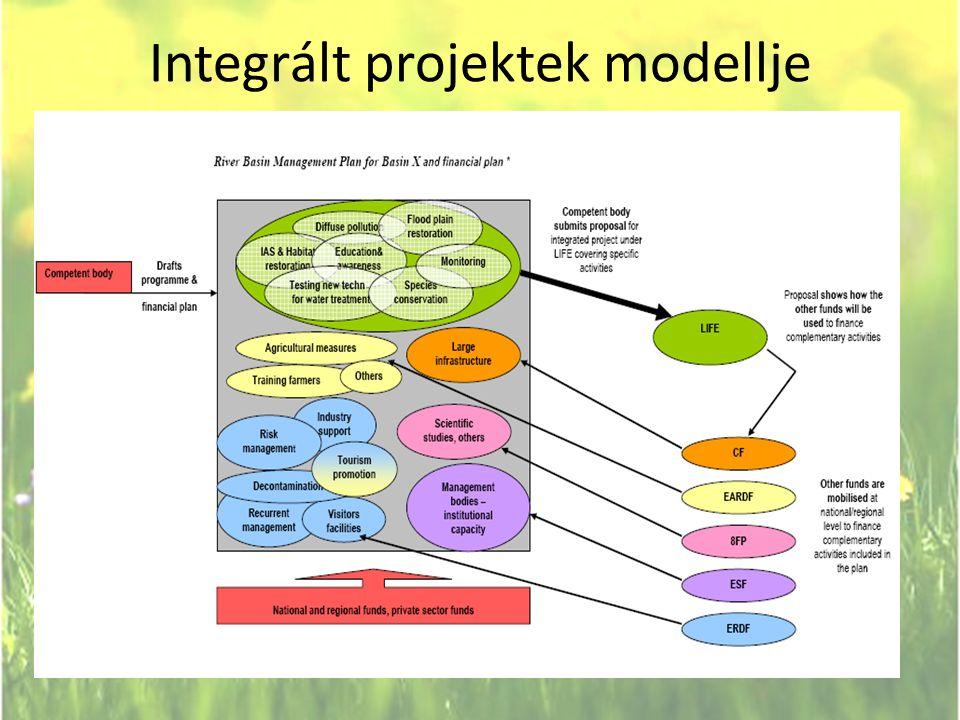Integrált projektek modellje