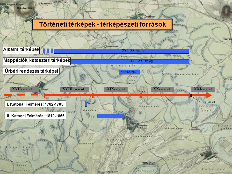 Történeti térképek - térképészeti források