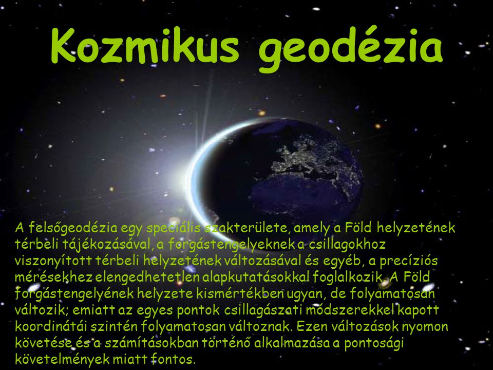 Kozmikus geodézia