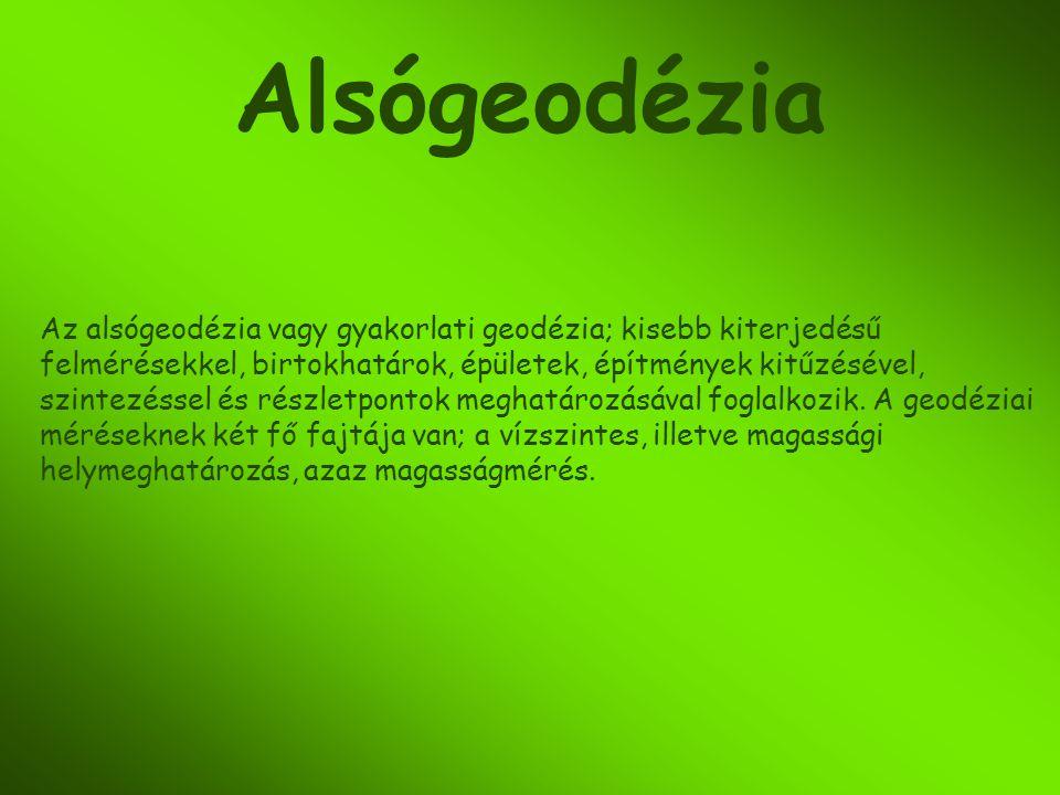 Alsógeodézia