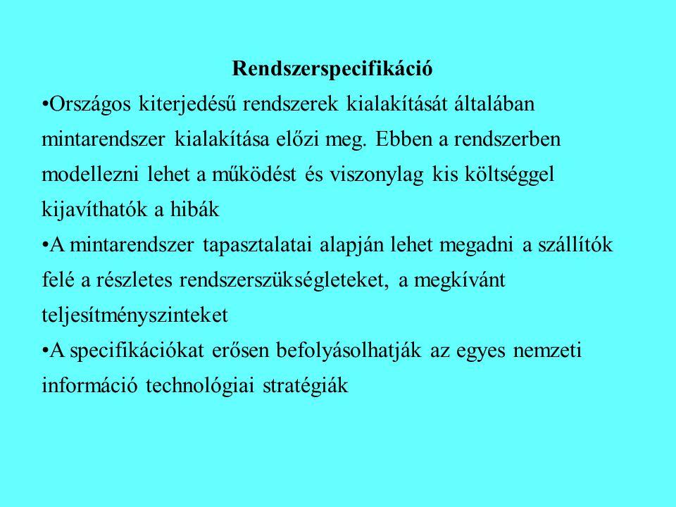 Rendszerspecifikáció