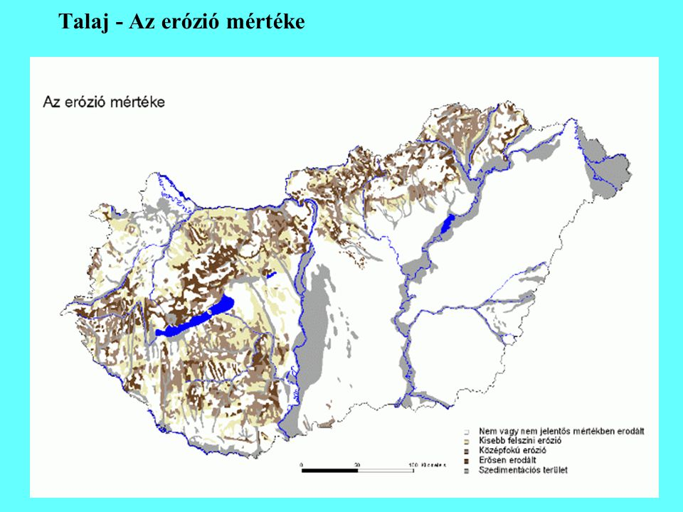 Talaj - Az erózió mértéke