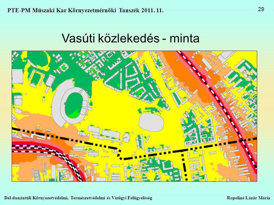 Vasúti közlekedés - minta