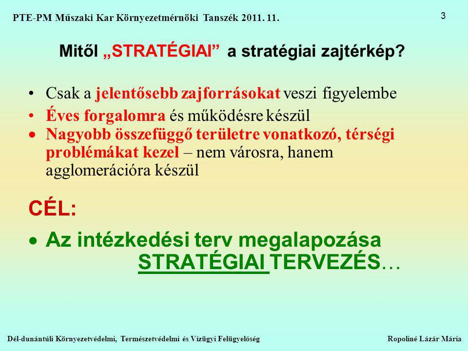"Mitől ""STRATÉGIAI a stratégiai zajtérkép"
