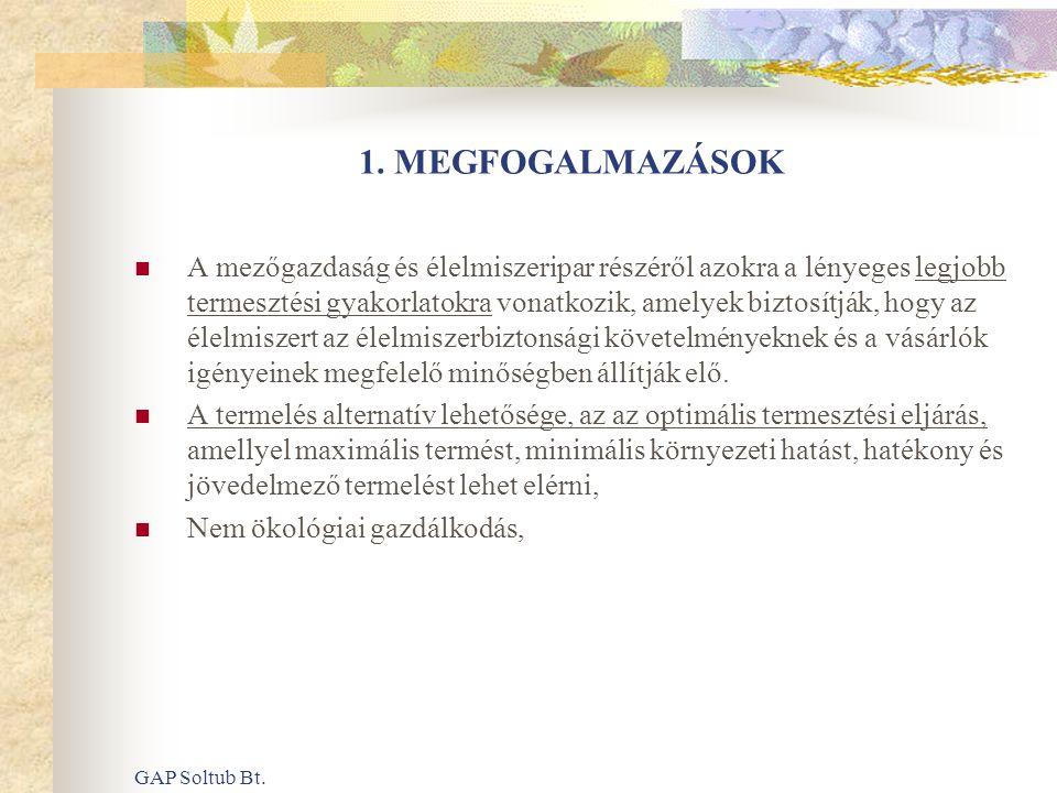 1. MEGFOGALMAZÁSOK