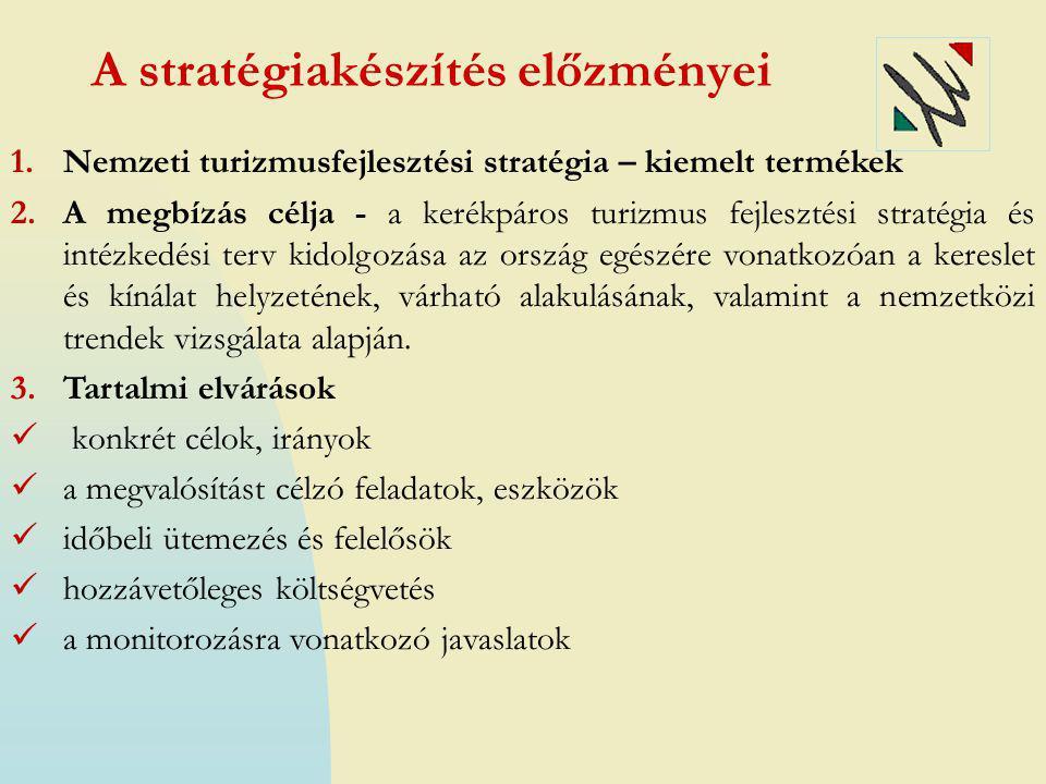 A stratégiakészítés előzményei