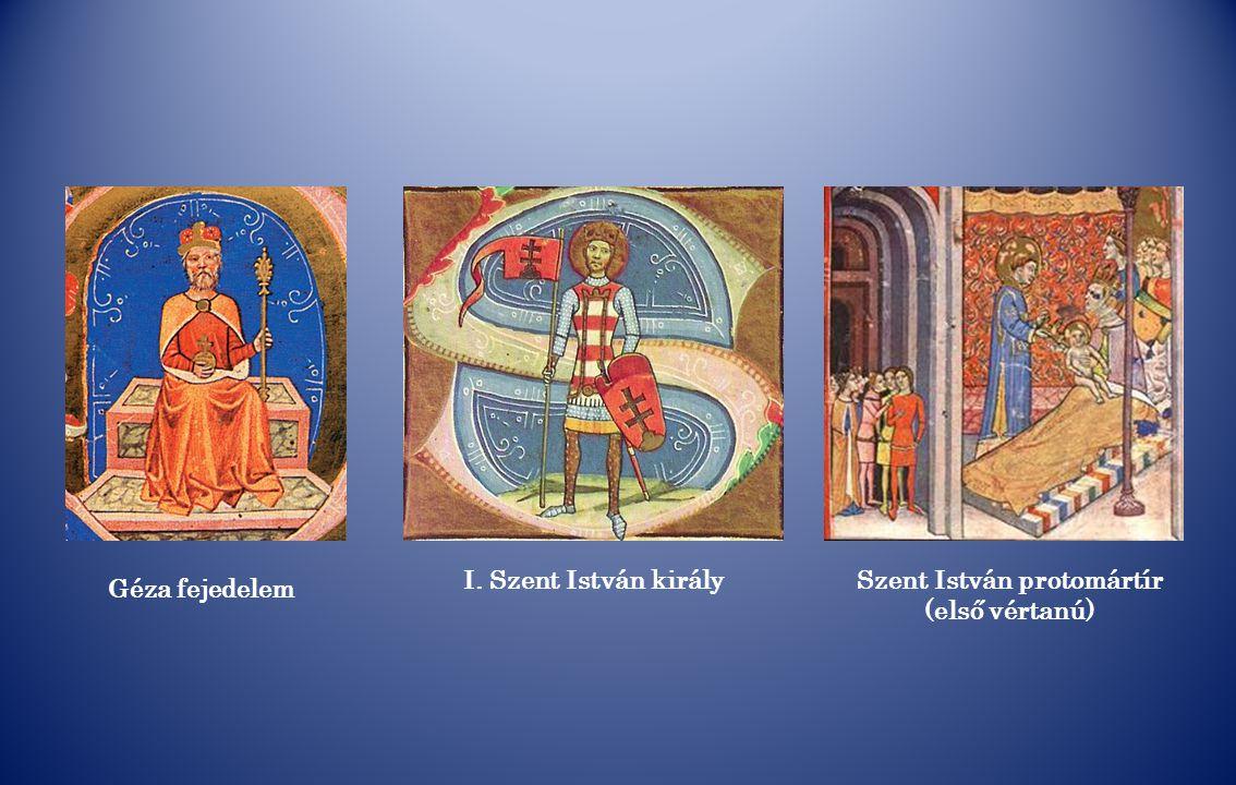 Szent István protomártír (első vértanú)