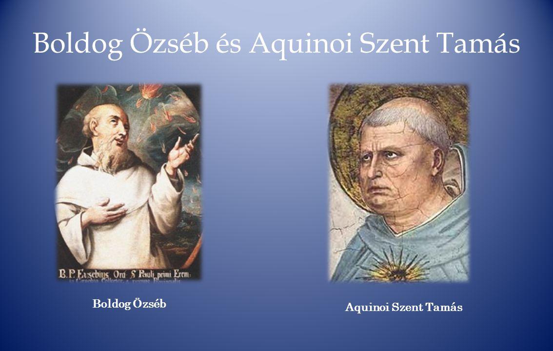Boldog Özséb és Aquinoi Szent Tamás