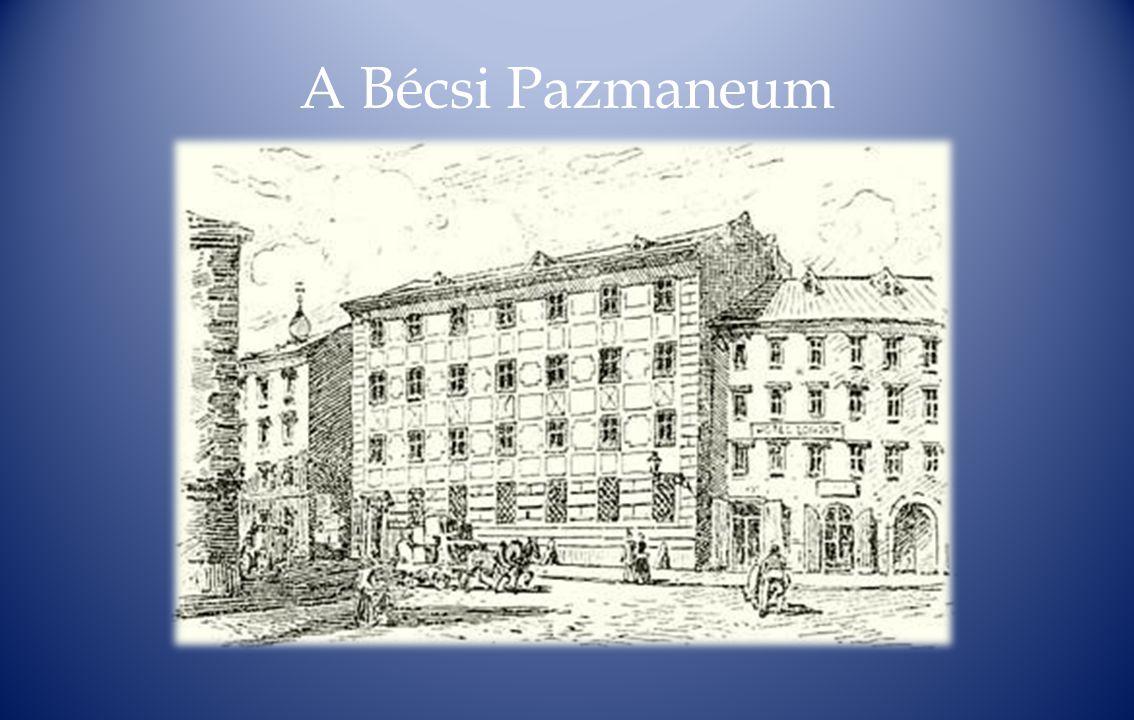A Bécsi Pazmaneum