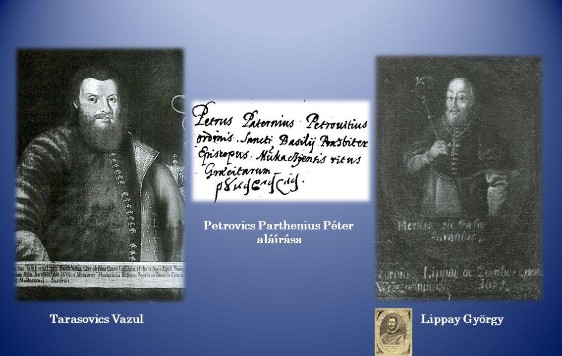 Petrovics Parthenius Péter
