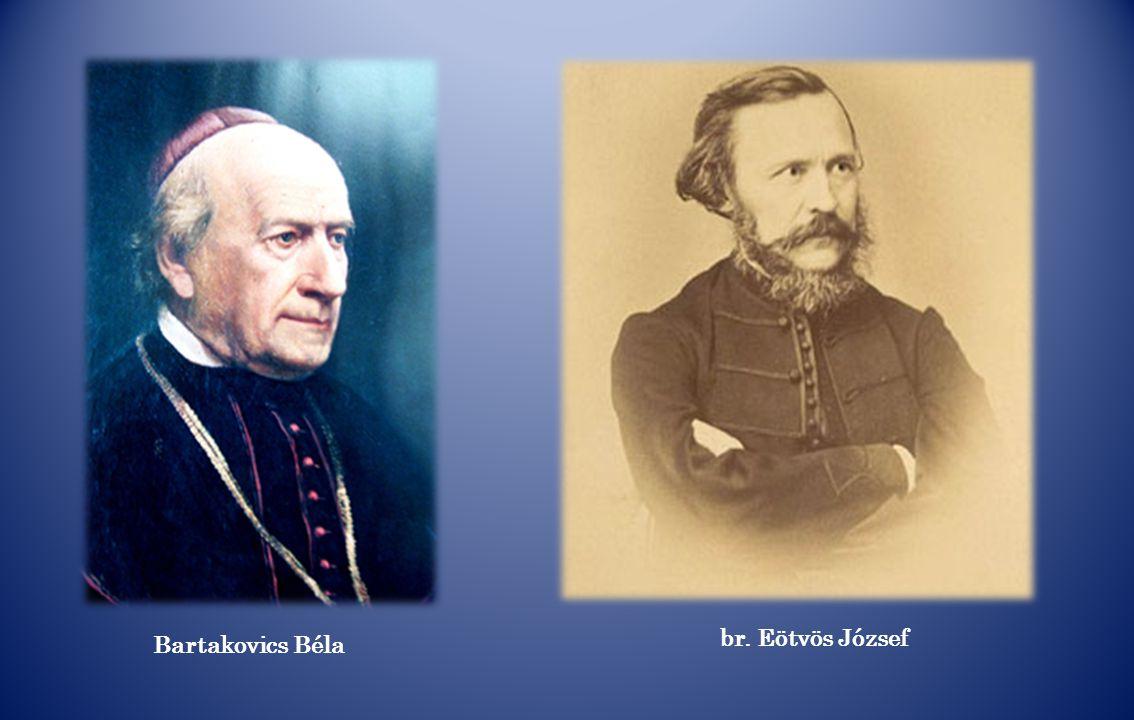 br. Eötvös József Bartakovics Béla