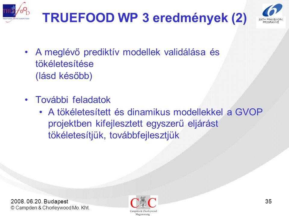 TRUEFOOD WP 3 eredmények (2)