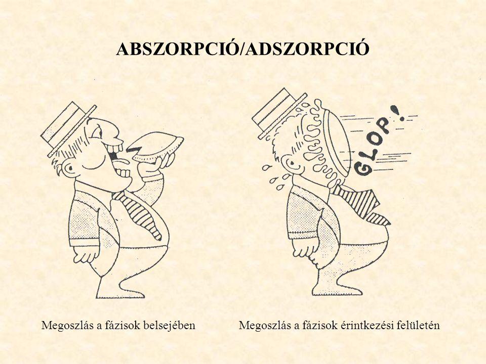 ABSZORPCIÓ/ADSZORPCIÓ