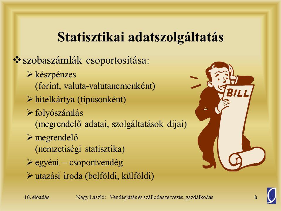 Statisztikai adatszolgáltatás