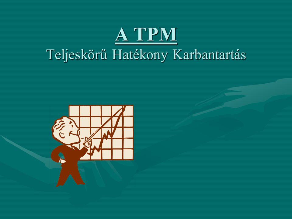 A TPM Teljeskörű Hatékony Karbantartás