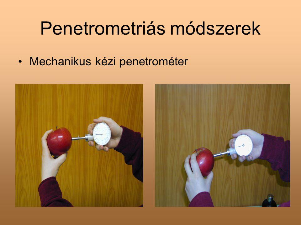 Penetrometriás módszerek