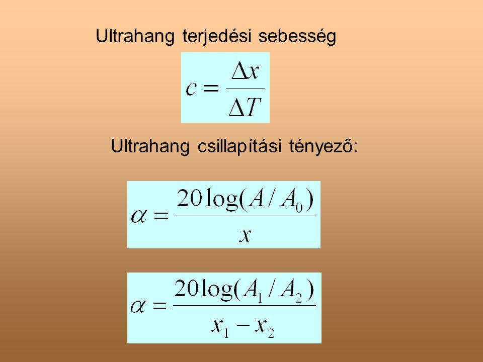 Ultrahang terjedési sebesség