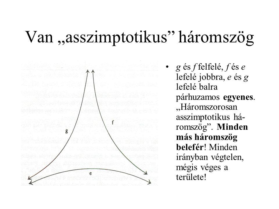 """Van """"asszimptotikus háromszög"""