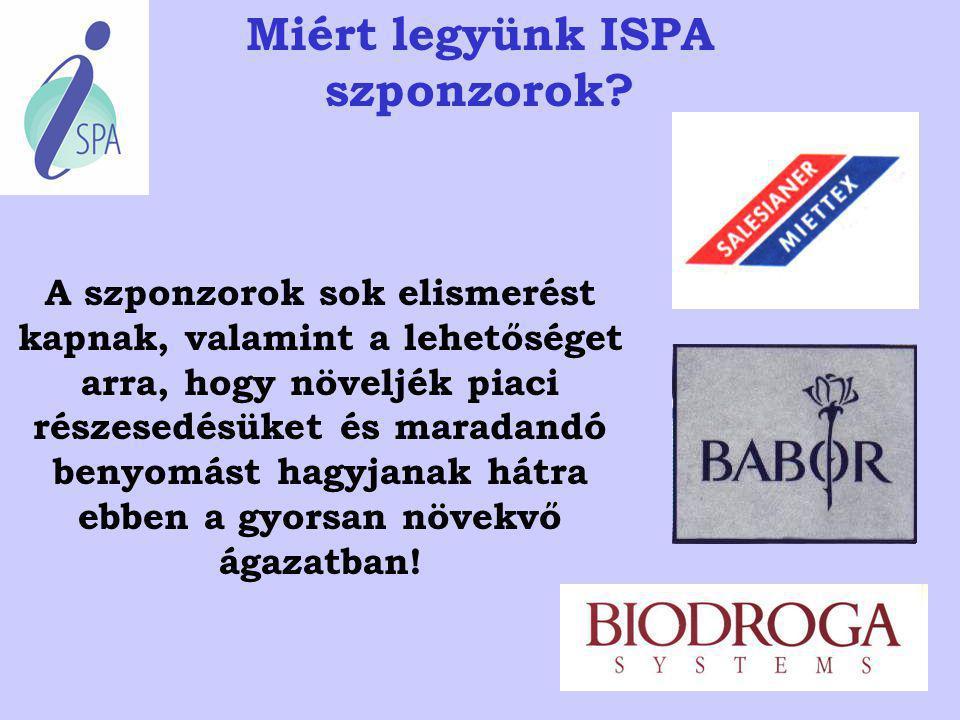 Miért legyünk ISPA szponzorok