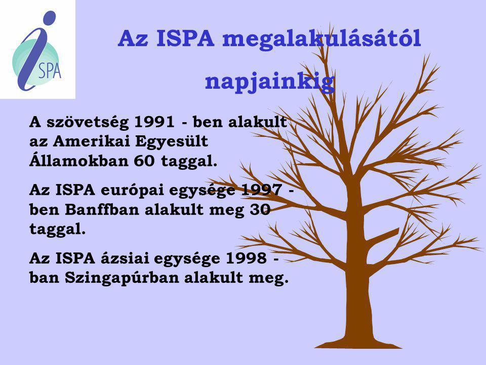 Az ISPA megalakulásától