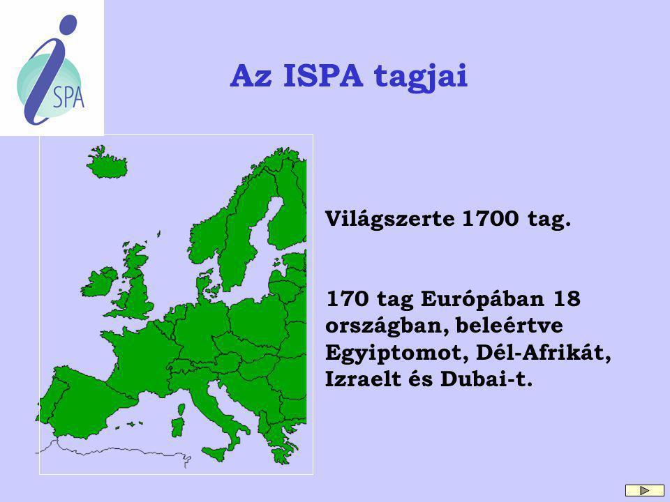 Az ISPA tagjai Világszerte 1700 tag.