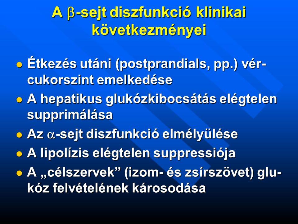 A -sejt diszfunkció klinikai következményei