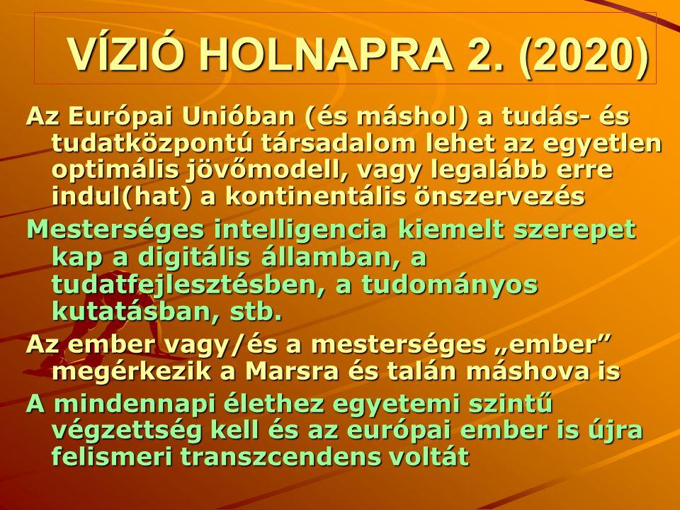 VÍZIÓ HOLNAPRA 2. (2020)