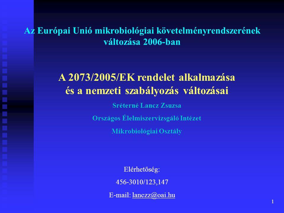 Országos Élelmiszervizsgáló Intézet Mikrobiológiai Osztály