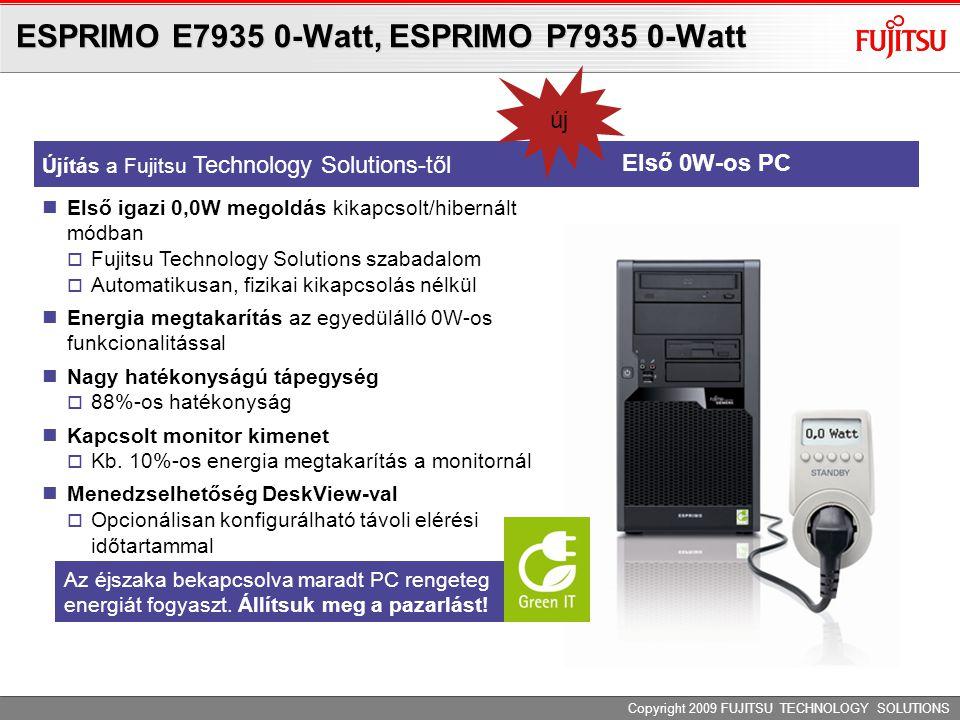Adminisztráció ESPRIMO E/P7935 0 Watt PC-vel